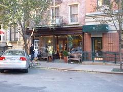 201411045 New York City Chelsea cafe (taigatrommelchen) Tags: street city nyc newyorkcity urban usa ny newyork building cafe chelsea manhattan 20141147