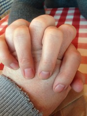 hands (timp37) Tags: winter love illinois holding hands january like her portillos crestwood 2015