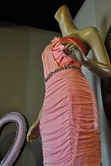 1930s Style (AntyDiluvian) Tags: california pink mannequin fashion hotel la losangeles 1930s dress style queenmary longbeach westcoast oceanliner eveningdress