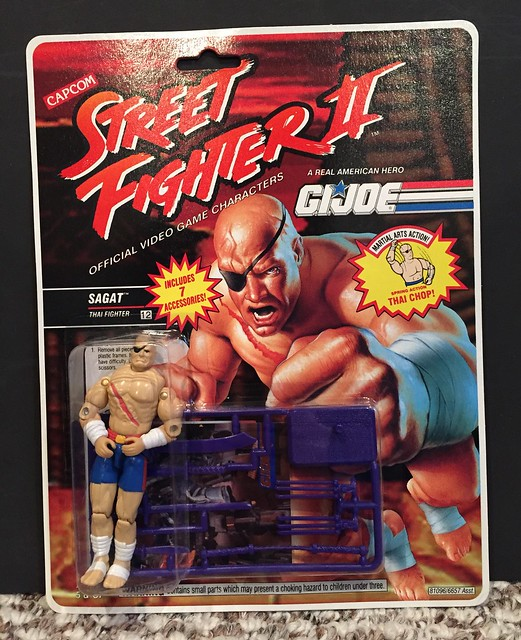 GI Joe 3 3/4 - Street Fighter 2 - Sagat