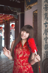 Miyo CNY15 (Alphone Tea) Tags: travel light red woman white holiday hot cute sexy nature girl beautiful print temple town costume amazing nice singapore colorful pretty slim bokeh outdoor body famous great chinese young like chinesenewyear newyear cny colourful sesion brighten facebook 6d miyo 2015  2470 naturelight atphotography ef2470mmf28liiusm