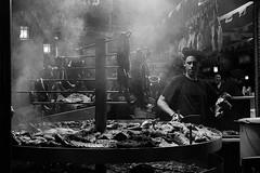 Smoke II (* Carlus Costa *) Tags: street blackandwhite blancoynegro night photography smoke vila ibiza fujifilm eivissa humo dalt xpro1 carlusibiza