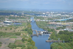 The Manchester Ship Canal (dwb transport photos) Tags: manchester manchestershipcanal m60 bartonbridge