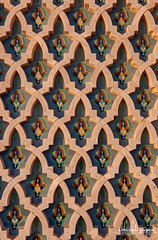Hassan II Mosque, Casablanca, Morocco (Abhi_arch2001) Tags: art ceramic king pattern mosaic craft grand mosque morocco ii casablanca sultan hassan moroccan islamic mega handcut zellige