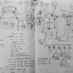 another #plumbing #system #diagram in an... (AndersonAndersonArchitecture) Tags: old architecture fix real hongkong boat wooden plumbing sketchbook system diagram another built freshwater leaky headscratcher uploaded:by=flickstagram instagram:photo=8537893594278980801287363409
