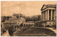 Bath - Prior Park (pepandtim) Tags: park old college st early bath postcard nostalgia nostalgic mansion peters prior 38bpp65