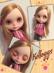 Kelloggs with new hairs and her original name back.