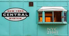 New York Central System Rail Car