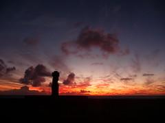 (37.7750 N, 122.4183 W) Tags: ocean chile sunset statue stone rocks waves historic pacificocean crater southpacific cave moai easterisland carvings petroglyphs birdman rapanui isladepascua ahu hangaroa anakena tongariki ipi tahai ranuraraku anakaitangata