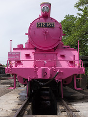 Pink SL at Wakasa Railway (9) (double-h) Tags: sl tottori jnr steamlocomotive c12   eos6d  ef2470mmf4lisusm  pinksl wakasarailway  c12 c12167 wakasastation classc12 c12 sl