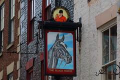 IMG_7892 (Yorkshire Pics) Tags: sign pub whitby northyorkshire blackhorse pubsign 0205 theblackhorse blackhorsepub blackhorseinn 02052016 teleys