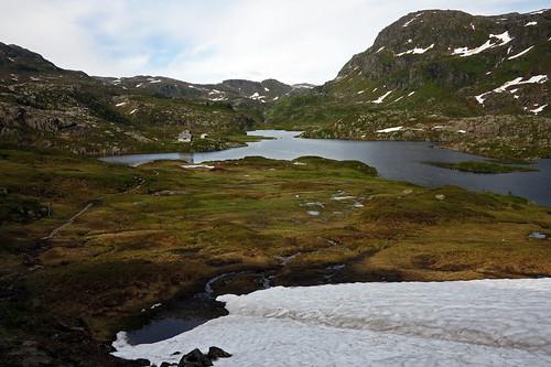 Blomstølen Hytta from Øyna
