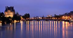 Crue de la Seine 2016 - Paris, Le Louvre  gauche (EclairagePublic.eu) Tags: paris seine flooding eau flood louvre lumire notredame berge pont quai inondation lampadaire naturelle catastrophe crue luminaire candlabre