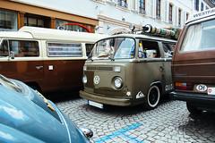 Cool combis (frost242) Tags: auto bus car vw volkswagen meeting vehicle t2b vwbus aircooled 2014 molsheim vwt2 coxshow