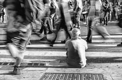 (Santiago Sito) Tags: street calle urban city quieto steel motion movimiento crowd gente protesta manifestacin demonstration buenosaires exposure longexposure