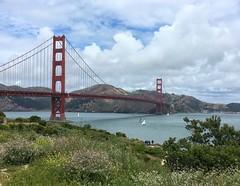 The Golden Gate Bridge and the Marin Headlands (AndyBailey) Tags: trip bridge goldengatebridge trips marinheadlands sanfransisco 2016