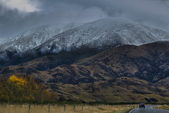 Heading For The Alps (> Russ<) Tags: winter newzealand mountains alps southernalps porterspass canon7d