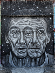 Splitting Headache (Eddie C3) Tags: newyorkcity streetart astoriaqueens wallmurals wellingcourtmuralproject pyramidoracle