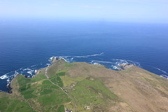 Mizen Head and Beyond (Rob O'Connor) Tags: ocean blue ireland wild lighthouse seascape west green way landscape coast head cork aviation line atlantic coastline munster mizen