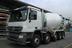 MB Actros 4448 (Vehicle Tim) Tags: truck mercedes mb fahrzeug lkw betonmischer actros