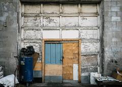 Side-Door (Yewbert The Omnipotent) Tags: city urban toronto canada broken 35mm nikon doors fullframe tamron locked dilapidated rundown lightroom urbex