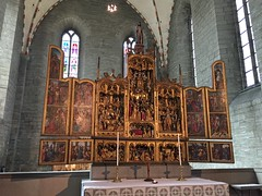 Vadstena 12 (greger.ravik) Tags: altarskp altare katolska kyrkan katolicismen katolik tro vadstena kloster klosterkyrka interir