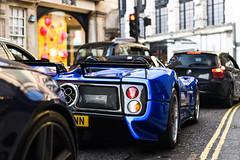 Pagan-eye (Callum Bough) Tags: auto road street house london cars car nikon automobile traffic s automotive d750 autos supercar zonda amg supercars v12 pagani