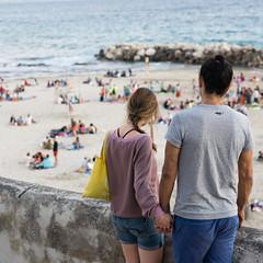 Marseille (monsieur ours) Tags: marseille france sea mer corniche couple together ensemble