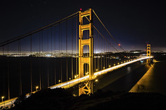 Bay bridge (Ken Tram Photography) Tags: sanfrancisco california longexposure nightphotography unitedstates goldengatebridge marincounty bluehour batteryspencer
