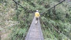 Taroko National Park, Taiwan (asterisktom) Tags: park bridge video footbridge taiwan national gorge february taroko hualien tarokogorge 2016 hangingbridge trip20152016cambodiataiwan tarokogorgepark