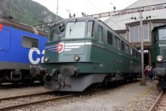 "Ae 6/6 11421 ""Graubnden"" (ice91prinzeugen) Tags: sbb 66 historic depot ae ffs lokomotive 2016 graubnden cff gottardo elok erstfeld 11421"