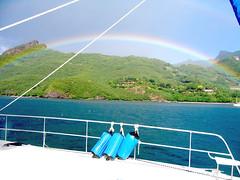 IMG_7626 (Slackadventure) Tags: sun water boats islands sailing pacificocean cruisers circumnavigation marquesas slackadventure