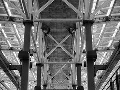 Train Station (Exceptionalis) Tags: new york station architecture train structure lattice