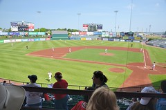 Patwucket Pawsox vs Lehigh Valley Ironpigs (jpellgen) Tags: ri travel usa sports field boston america spring nikon baseball stadium may redsox newengland sigma rhodeisland pawsox lehighvalley minorleague pawtucket 2016 mccoystadium triplea 1770mm ironpigs d7000