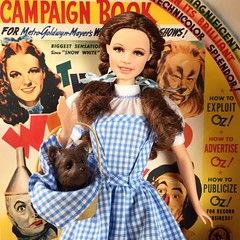 Dorothy and Toto (Richard Zimmons) Tags: dorothy doll oz wizard barbie garland hollywood judy