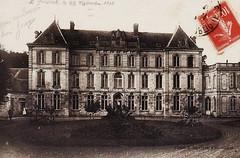 Original 1753 1ver 1853 2verd (gabrielgs) Tags: original france castle architecture postcard secession story urbex