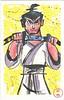 (zilladon) Tags: watercolor painting samurai samuraijack