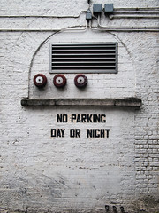 NO PARKING (Daire Quinlan) Tags: dublin digital pen olympus panasonic f25 14mm epl2