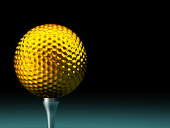 gold golf ball (djcharlou) Tags: italy white playing game detail macro texture sports sport closeup illustration ball golf circle fun soft pattern background object competition hobby equipment entertainment dimple sphere golfing round dimples gloss leisure recreation activity challenge golfball textured recreational sportsequipment