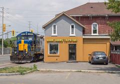 Need a Loan? (Joseph Bishop) Tags: railroad train track tracks rail railway trains rails railfan brantford burford sor rlk 4003 southernontariorailway rlhh burfordspur