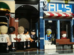 Get a Haircut and get a real Job! (captain_joe) Tags: toy lego minifig spielzeug minifigure thehighlander alsbarbershop 365toyproject acebrickman uefaeuro2016 alscoiffeur