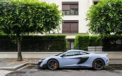 Ceramic Grey. (misterokz) Tags: paris car photography automobile voiture exotic mclaren supercar longtail spotting lt 675 carspotting 675lt misterokz