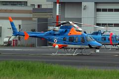 JA88CX (wiltshirespotter) Tags: japan tokyo bell 430 aeroasahi tokyoheliport