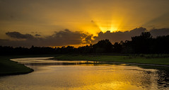 Hilton Sunset (Maxinux40k) Tags: sunset summer sky orange nature water june clouds landscape orlando florida outdoor ngc hilton olympus 2016 hiltonorlandobonnetcreek omdem1 mzuikodigitaled1240mmf28pro mitchellcipriano