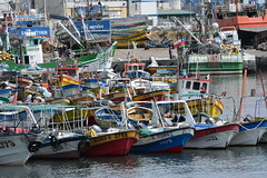 SAN ANTONIO | LITORAL DE LOS POETAS (verte de frente / arquitecturista) Tags: chile ruta de landscape botes muelle mar los san playa punta antonio 78 litoral aire libre poetas tralca