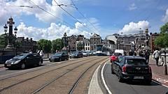 Ouderwets Amsterdams (Peter ( phonepics only) Eijkman) Tags: city holland netherlands amsterdam transport nederland tram rail rails trams strassenbahn noordholland gvb streetcars combino nederlandse