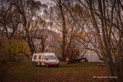 'Freedom Camping' - Lake Hayes, Queenstown (flyingkiwigirl) Tags: camping autumn lake sunrise freedom queenstown hayes