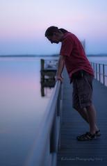 blaue Stunde (Explore # 351 - Danke vielmals) (rafischatz... www.rafischatz-photography.de) Tags: germany person pier pentax bluehour schleswigholstein k3 ploen ascheberg