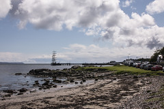 Islay 2016 2 (29) (Yorkshire Reckless & Proud) Tags: blue shadow sea people musician cloud sun lighthouse black bird beach birds silhouette vw landscape scotland boat ship harbour cottage sails tent islay seal duster van camper distillery orsay bowmore bruichladdich dacia