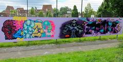Graffiti Schollevaar (oerendhard1) Tags: urban streetart art graffiti rotterdam stern narda casm schollevaar meanr